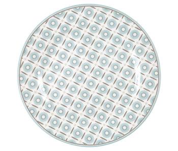 """GreenGate Frühstücksteller """"Plate Alva white"""""""