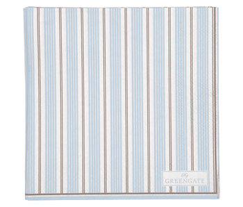 "GreenGate Papierservietten ""Tova pale blue"" small 20 Stk."