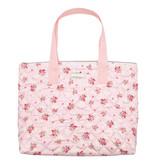"""GreenGate Tasche """"Abigail stripe pale pink"""" klein"""