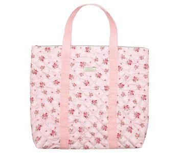 "GreenGate Tasche ""Abigail stripe pale pink"" groß"