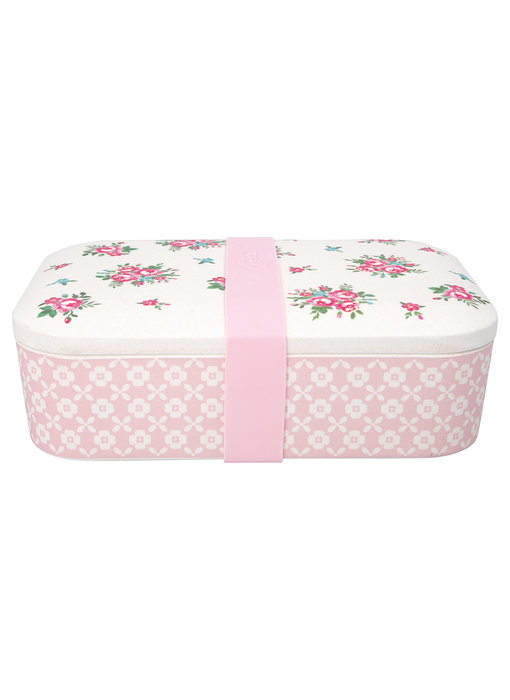 "GreenGate Lunch box ""Constance white"""