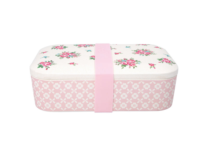 "GreenGate Lunch box ""Constance white"""