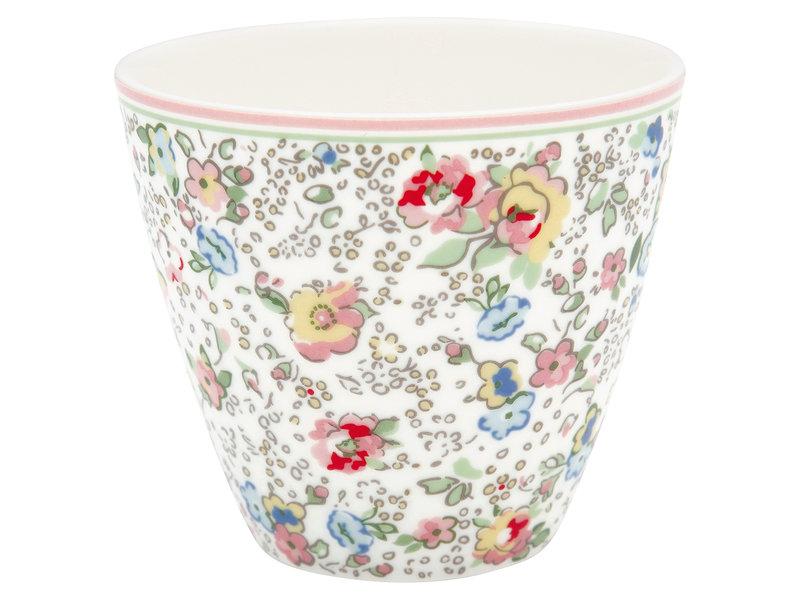"GreenGate Latte Cup ""Vivianne white"""