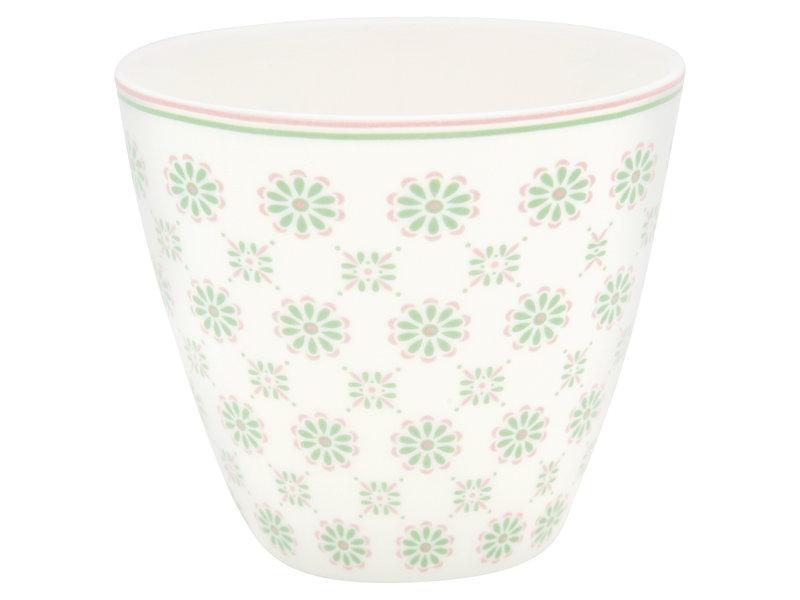 "GreenGate Latte Cup ""Mila white"""