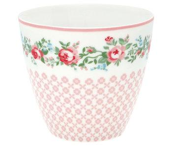 "GreenGate Latte Cup ""Gabby white"""