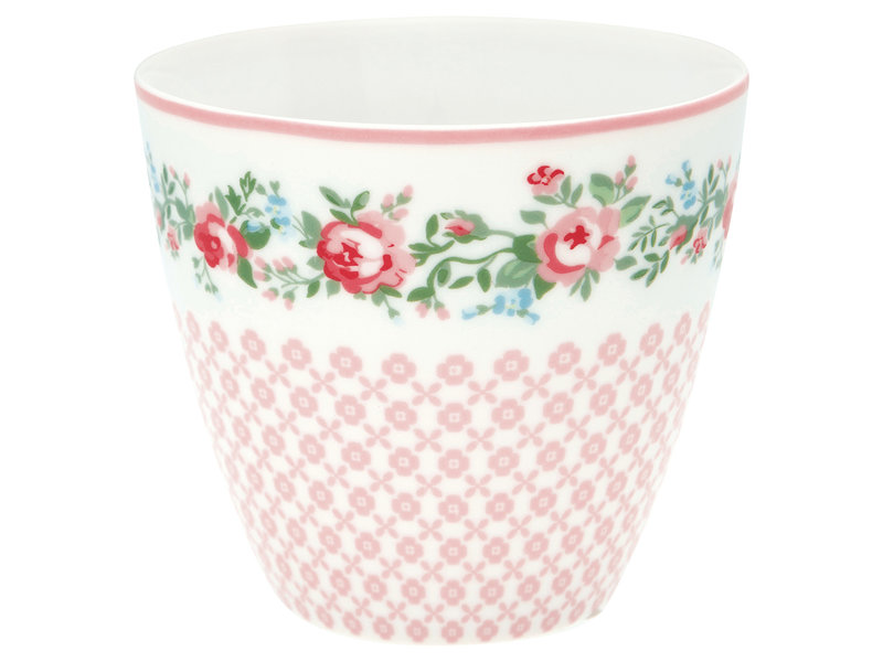 "GreenGate Latte Cup ""Gabby white"""