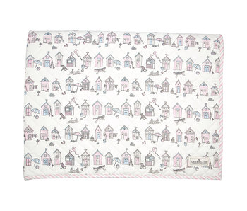 "GreenGate Kinder Quilt  ""Ellison pale pink"" 120x120cm"