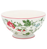 "GreenGate French bowl xlarge ""Constance white"""