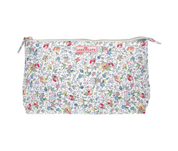 "GreenGate Kosmetikmäppchen ""Cosmetic bag Vivianne white"" large"