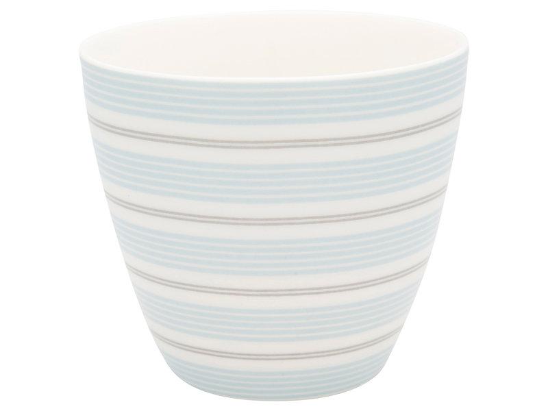 """GreenGate Latte Cup """"Tova pale blue"""""""