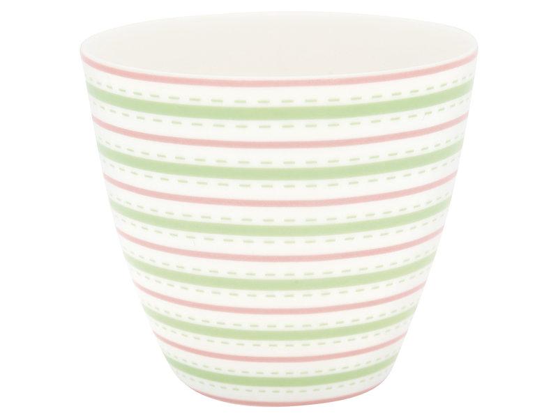 "GreenGate Latte Cup ""Sari white"""