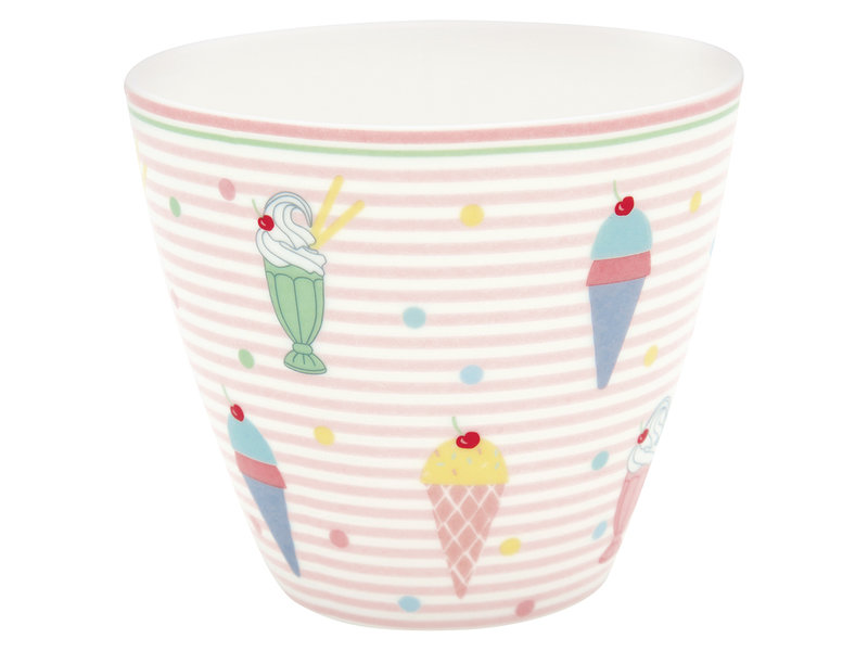 "GreenGate Latte Cup ""Isa pale pink"""
