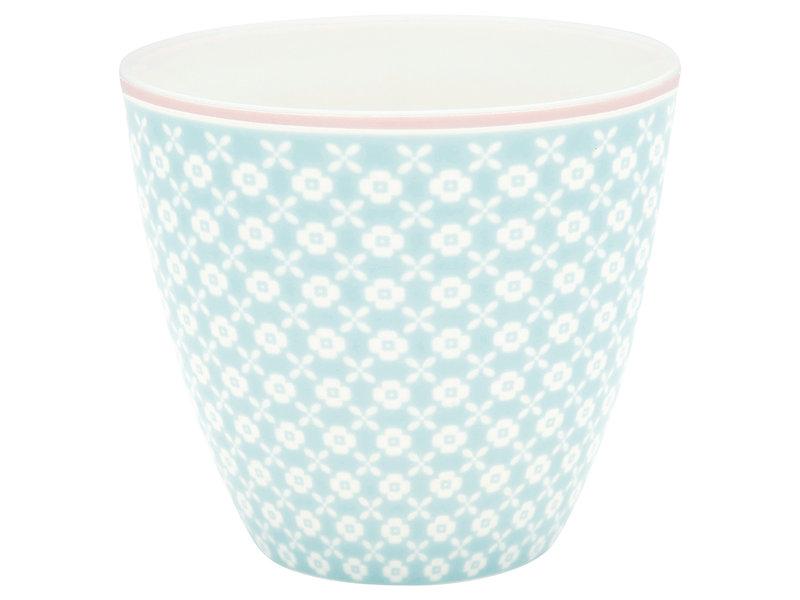 """GreenGate Latte Cup """"Helle pale blue"""""""