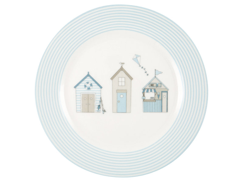 "GreenGate Kinder Teller ""Kids plate Ellison pale blue"""