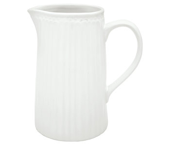 "GreenGate Krug ""Jug Alice"" white 1L"