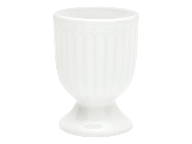 "GreenGate Eierbecher ""Egg cup Alice"" white"
