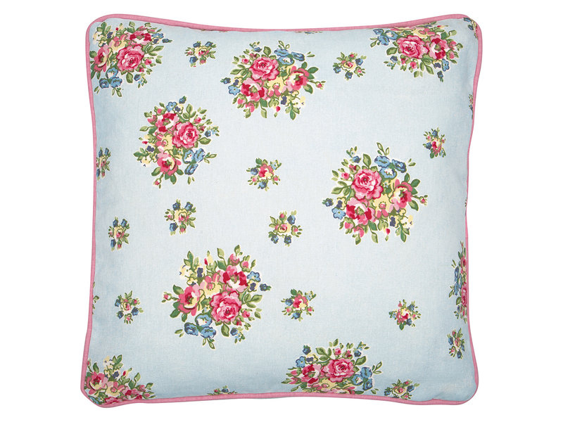 "GreenGate Kissen ""Franka pale blue"" 40 x 40 cm"