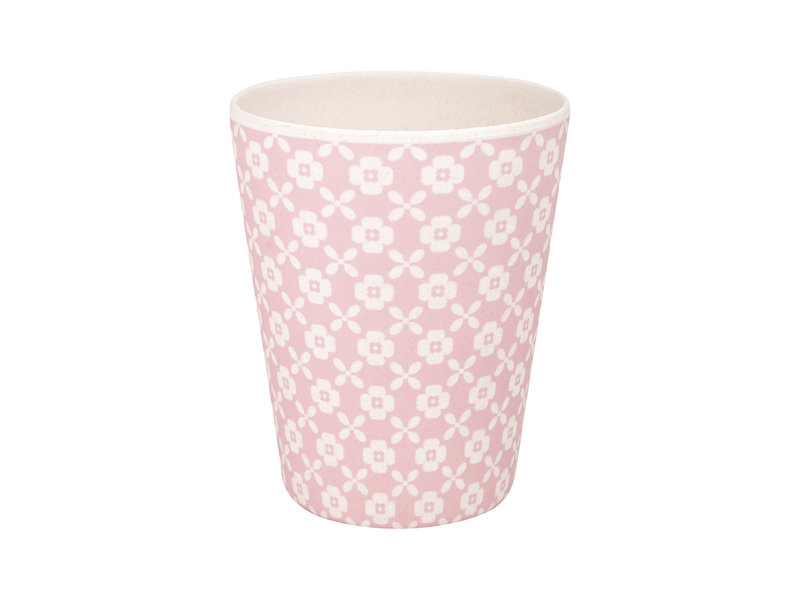"""GreenGate Bambus Becher """"Cup Helle pale pink"""""""