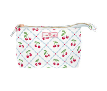 "GreenGate Kosmetikmäppchen ""Cosmetic bag Cherry white"" small"