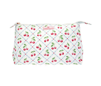 "GreenGate Kosmetikmäppchen ""Cosmetic bag Cherie white"" large"