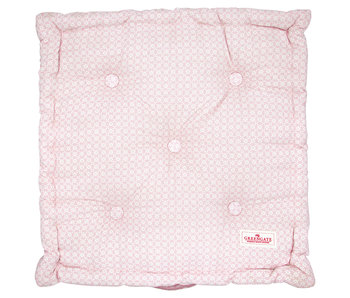 "GreenGate Sitzkissen ""Helle pale pink"" 50x50cm"