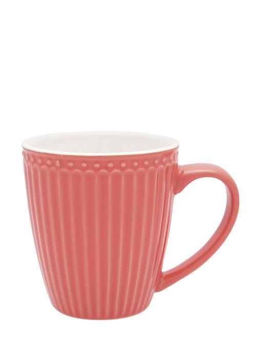 """GreenGate Henkelbecher Mug """"Alice"""" coral"""