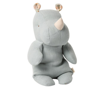 "Maileg Safari friends ""Rhino"" Small, blau-grau"