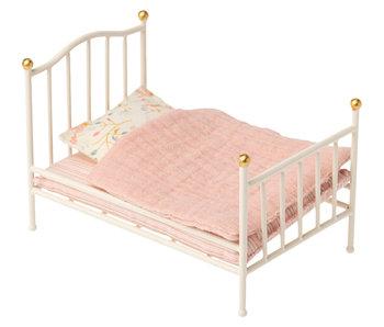 """Maileg Hasen """"Vintage Bett"""" weiß, my"""