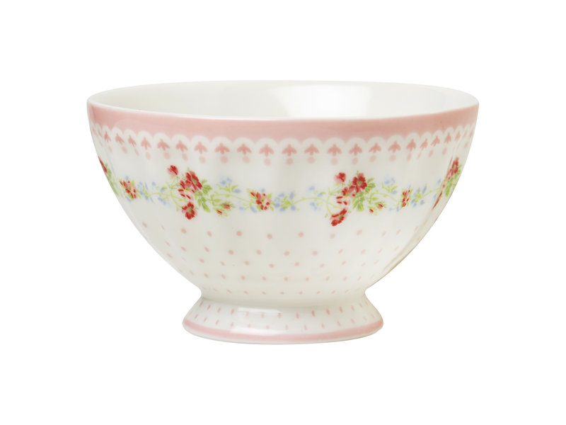 "GreenGate French Bowl ""Sinja white"" medium"