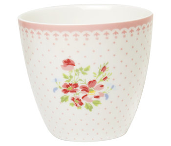 "GreenGate Latte Cup ""Sinja white"""