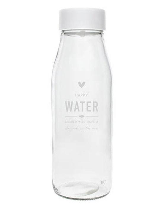 "Bastion Collections Glasflasche mit Deckel ""Water"""