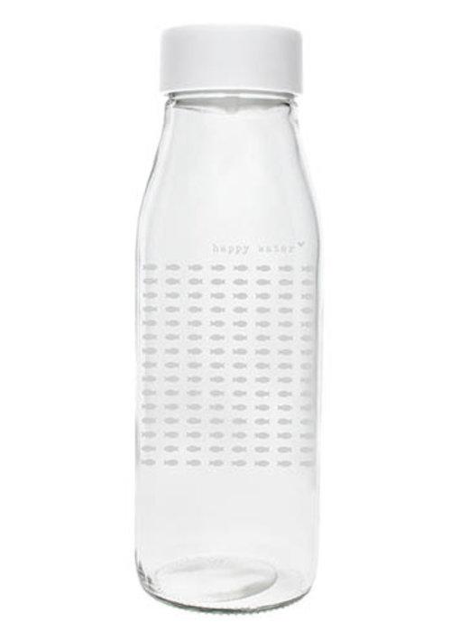 """Bastion Collections Glasflasche mit Deckel """"Fische"""""""