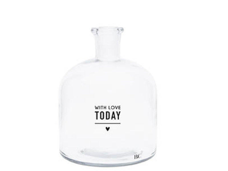 "Bastion Collections Glasflasche ""Today"" klein"