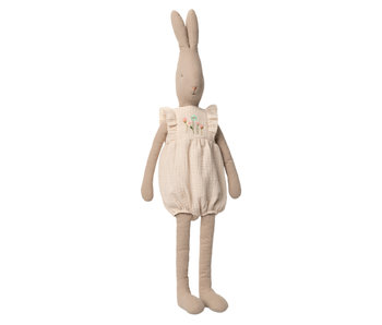 "Maileg Rabbit ""Jumpsuit"" off white, Größe 5"