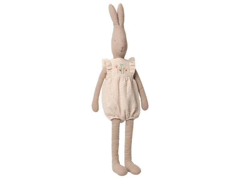 """Maileg Rabbit """"Jumpsuit"""" off white, Größe 5"""