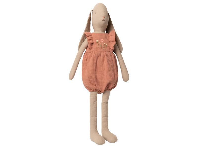 """Maileg Hasen  """"Jumpsuit"""" rose, Größe 5"""