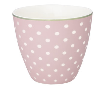 "GreenGate Latte Cup ""Spot"" pale pink"
