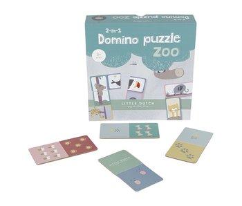 "Little Dutch Domino ""Puzzle"" Zoo"