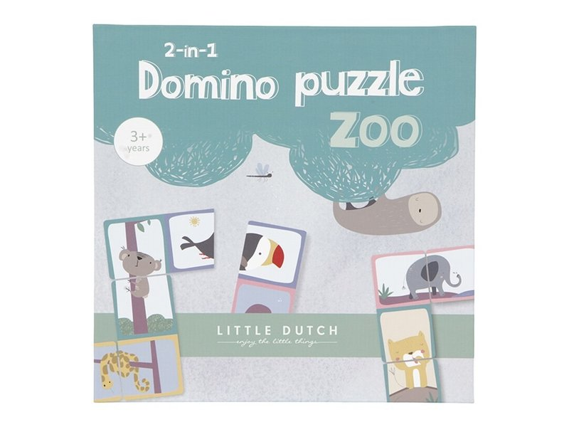 "Little Dutch Domino ""Puzzle"" Zoo"