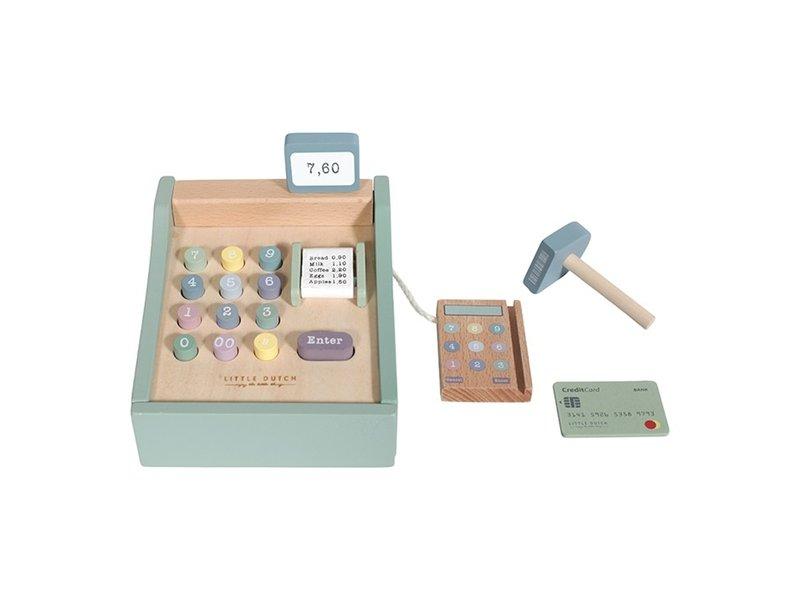 """Little Dutch Holz Kaufladen """"Spielkasse mit Scanner"""""""