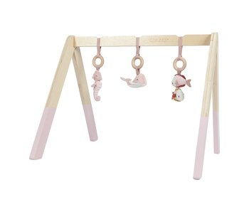 Little Dutch Spieltrapez aus Holz - Ocean Pink