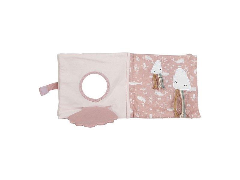 Little Dutch Stoffbuch mit Aktivitäten - Ocean Pink