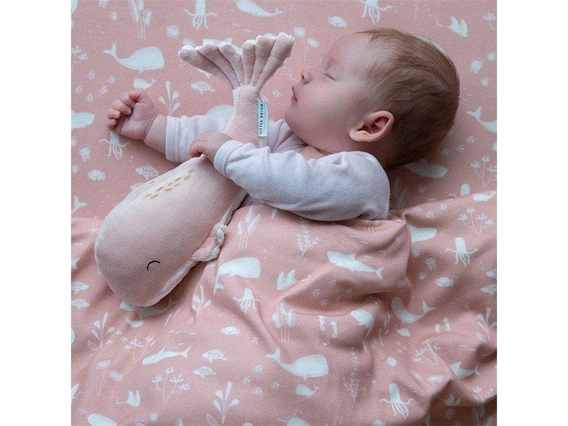 Little Dutch Kuschel Wal Klein- Ocean Pink