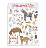 krima & isa Fensterbilder Pony