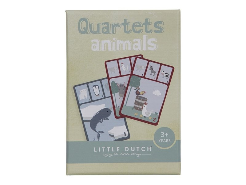 "Little Dutch Quartett ""Kartenspiel"" Tiere"