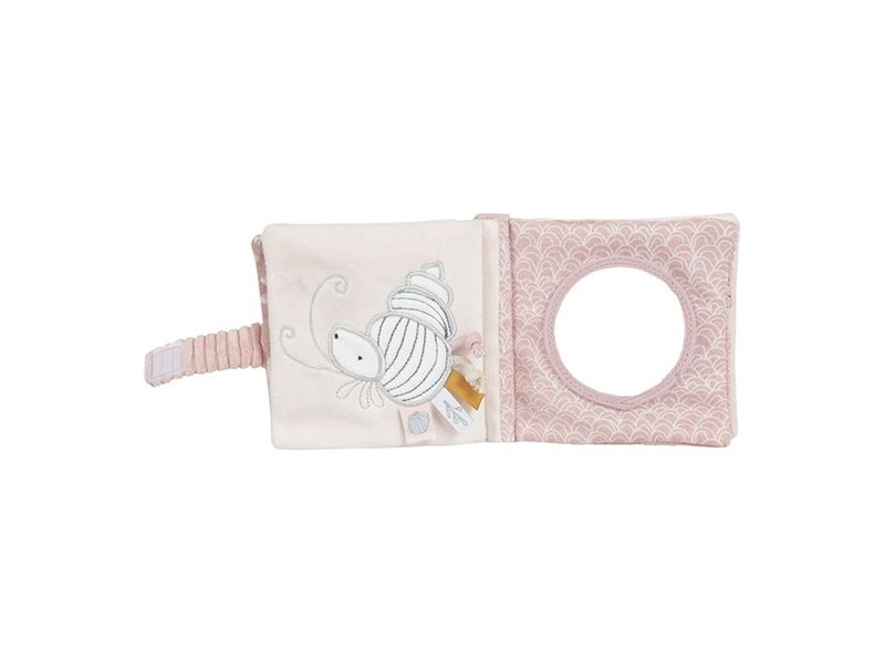Little Dutch Buggy-Fühlbuch - Ocean Pink