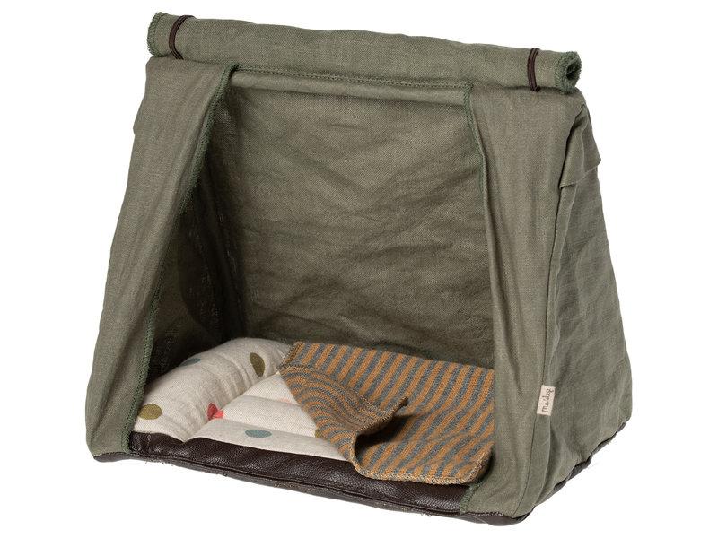 """Maileg Zelt """"Happy camper tent"""" für die Mäuse"""
