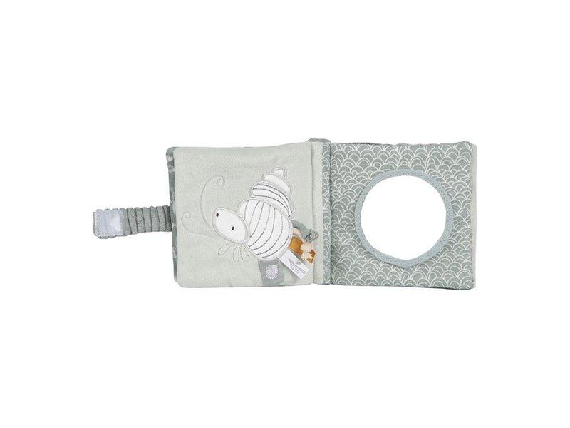 Little Dutch Buggy-Fühlbuch - Ocean Mint