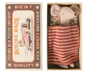 "Maileg Big sister ""Maus"" in Matchbox"