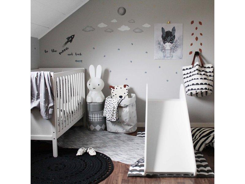 """Kinderrutsche"" pink rabbit"
